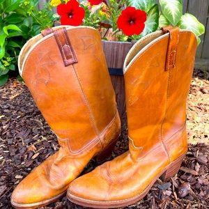 Vintage Dingo men's cowboy boots